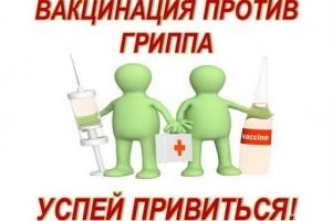 Прививка против гриппа рекомендована каждому, кто заботится о своем здоровье