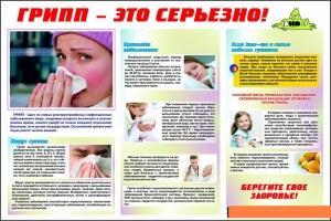 ГРИПП – массовое инфекционное заболевание.